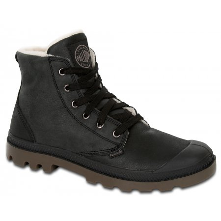 Ботинки Palladium Pampa Hi Leather S black 92609072
