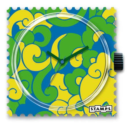 Часы STAMPS Green Curls