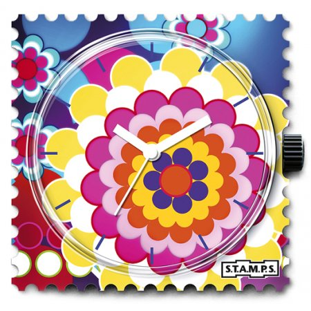 Часы STAMPS 1011061 Bunch Of Flowers