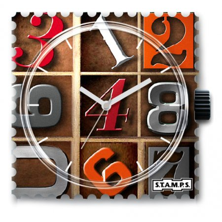 Часы STAMPS 1211010 Again Numbers
