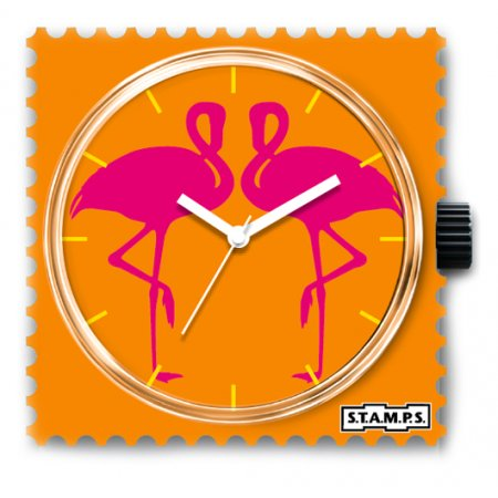 Часы STAMPS Flamingo